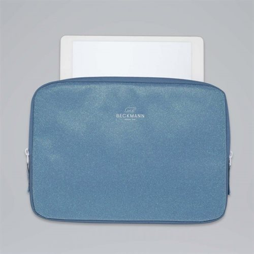 Beckmann Chromebook Sleeve / Cover, Blue Glitter