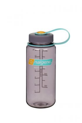 Nalgene drikkedunk, WIDE MOUTH, 500 ml. (Aubergine)