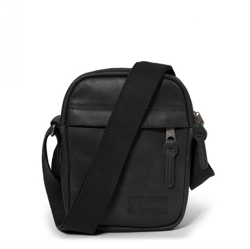 Eastpak mobiltaske model THE ONE, sort læder