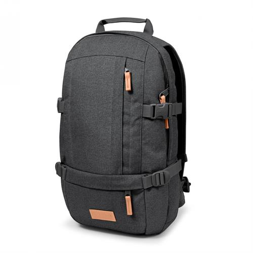 Eastpak Floid  Computer Rygsæk - Black Denim / Grå