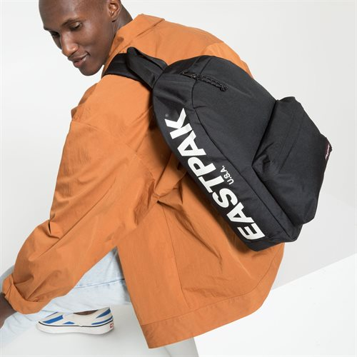 Sort Eastpak Padded Sling'r Rygsæk, Bold Brand - sort