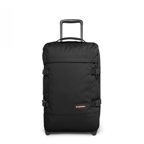 Eastpak Strapverz kuffert / trolley / rygsæk, small, Sort