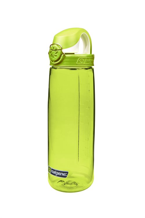 Nalgene drikkedunk ON-THE-FLY - Limegrøn, 650 ml. uden BPA, BPS og Ftalater.