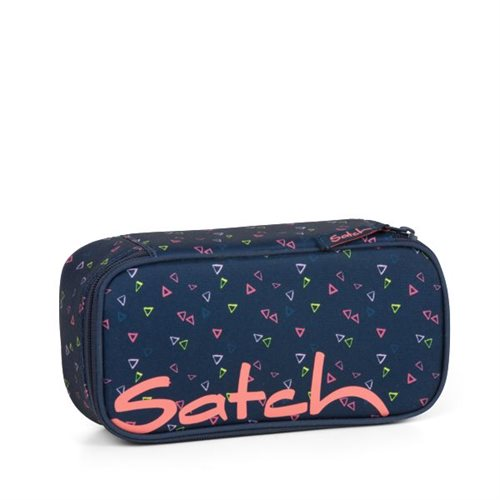 Satch by Ergobag Stort Box penalhus -Funky Friday - Stort udvalg