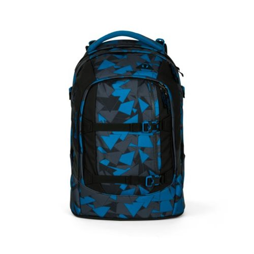 Ergobag Satch Classic skoletaske - Blue Triangle