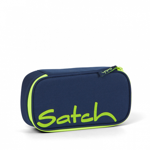 Satch by Ergobag Stort Box penalhus - Toxic Yellow