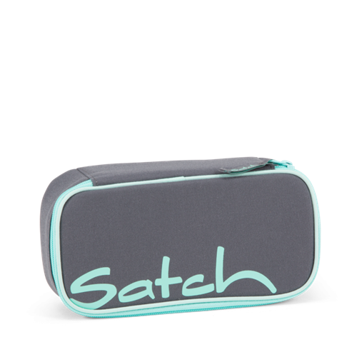 Satch by Ergobag Stort Box penalhus - Mint Phantom