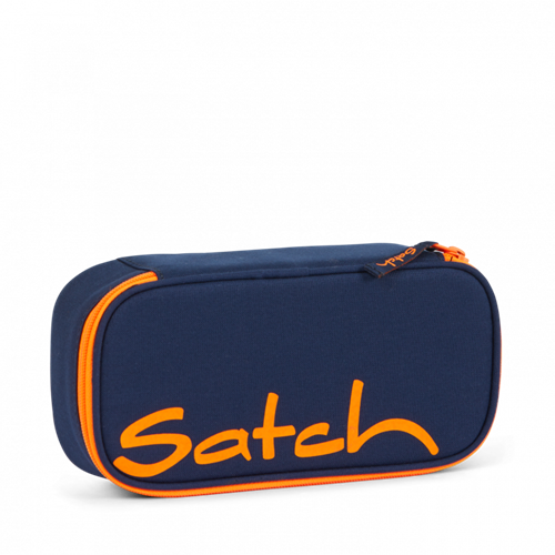 Satch by Ergobag Stort Box penalhus - Toxic Orange
