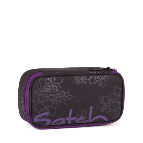 Satch by Ergobag Stort Box penalhus - Stort udvalg (Purple Hibiscus)