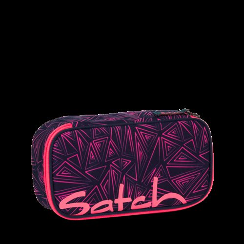 Satch by Ergobag Stort Box penalhus - Pink Bermuda
